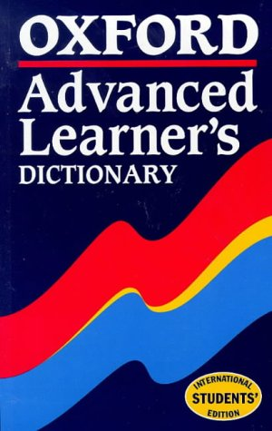 9780194314237: Oxford Advanced Learner's Dictionary (Spanish Edition)