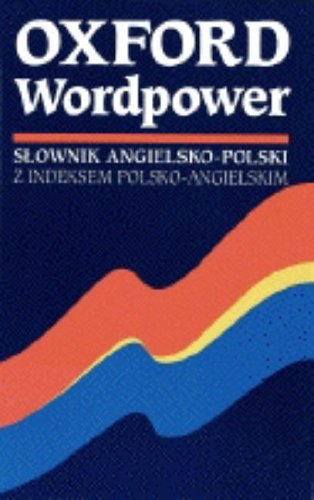 9780194314619: Oxford Wordpower Dictionary for Polish Learners