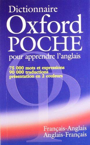9780194315289: Dictionnaire Oxford poche pour apprendre l'anglais. : Français-anglais, anglais-français