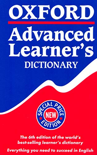 9780194315388: Oxford Advanced Learner's Dictionary, Sixth Edition: Special Price Edition (Paperback)
