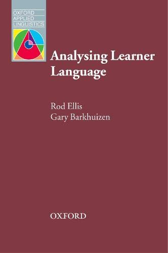 9780194316347: Analysing Learner Language (Oxford Applied Linguistics)