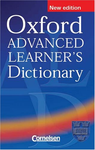 9780194316545: Oxford Advanced Learner's Dictionary of Current English