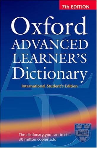9780194316590: Oxford Advanced Learner's Dictionary, Seventh Edition: International Student's Edition with Compass CD-ROM