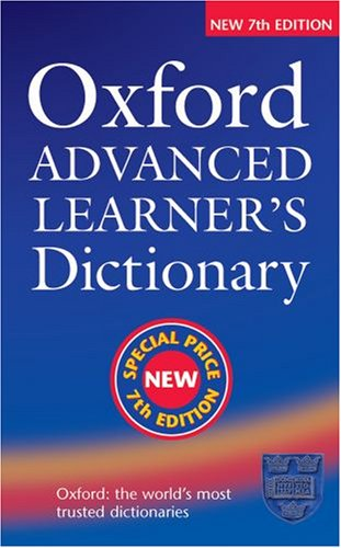 9780194316613: Oxford Advanced Learner's Dictionary, Seventh Edition: Special Price Edition