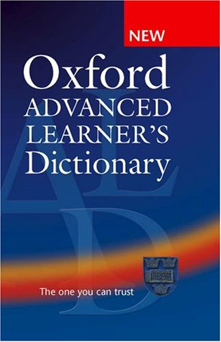 Oxford Advanced Learner's Dictionary: A. S. Hornby