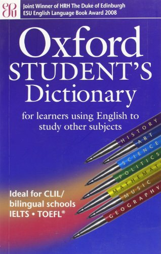 9780194317467: Oxford Student's Dictionary, New Edition: Oxf student's dict of english ed2007 (Diccionarios)