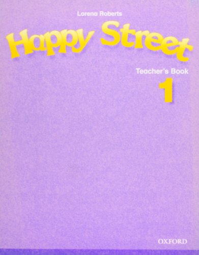 9780194317528: Happy Street 1: Teacher's Book (Happy First Edition)