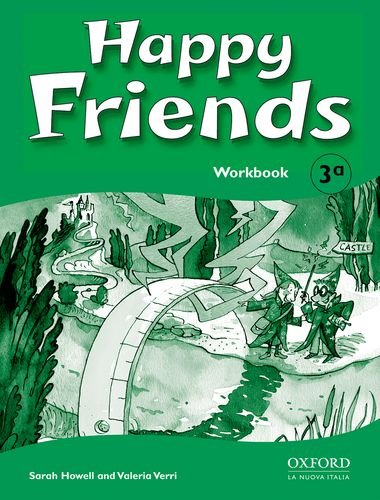 9780194318037: Happy friends. Workbook. Per le Scuole elementari: 3