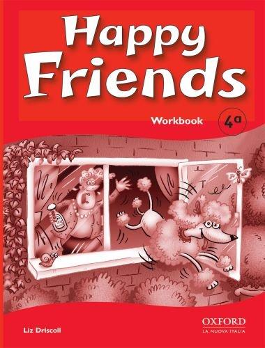 9780194318105: Happy friends. Workbook. Per le Scuole elementari: 4
