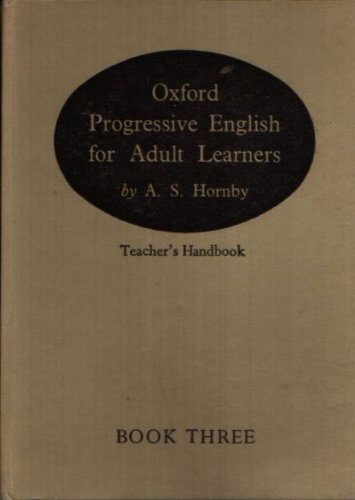 Oxford Progressive English for Adult Learners: Alternative: Hornby, A. S.