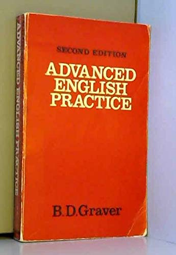 9780194321891: Advanced English Practice