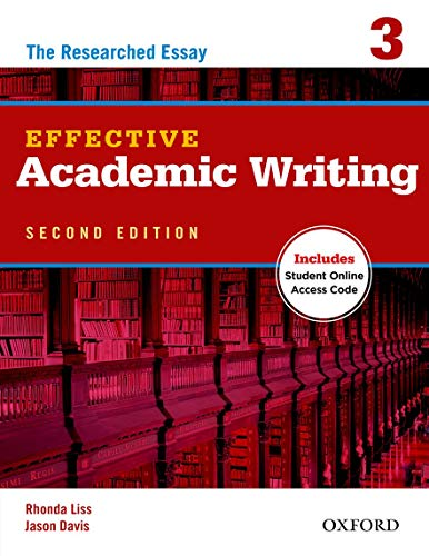 9780194323482: Effective Academic Writing 2e Student Book 3 (Effective Academic Writing Second Edition)