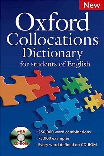 Oxford Collocations Dictionary: Colin McIntosh