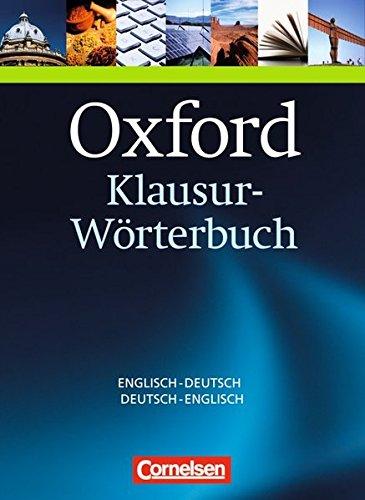 9780194325486: Oxford Klausur-Wörterbuch Englisch - Deutsch / Deutsch - Englisch