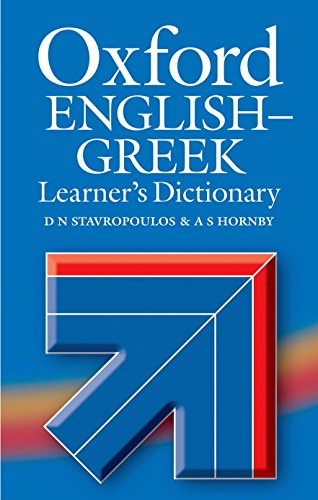 9780194325677: Oxford English-Greek Learner's Dictionary