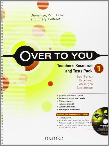 9780194325752: Over to You 1: Teacher's Resource Book & Test Pack (Es)