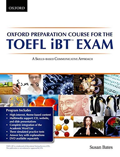 9780194326490: Oxford Preparation Course for the TOEFL IBT Exam. Student's Book Pack with Audio CDs and Website Access Code (TOEFL Ibt Preparation Course)