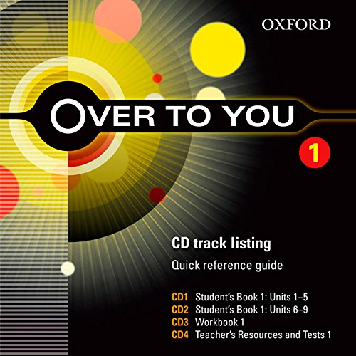 9780194326865: Over to You 1: Class CD (X5) (Es)