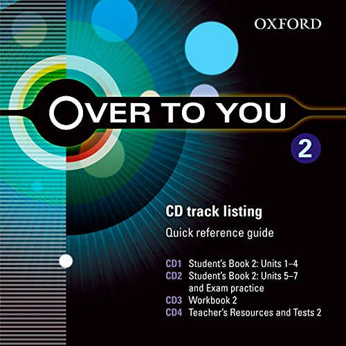 9780194326902: OVER TO YOU 2 CL CD (X5) (ES)