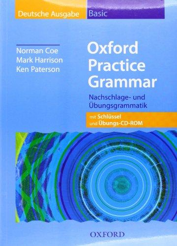 9780194326926: Oxford Practice Grammar, Basic Deutsche Ausgabe, m. Schlüssel u. CD-ROM