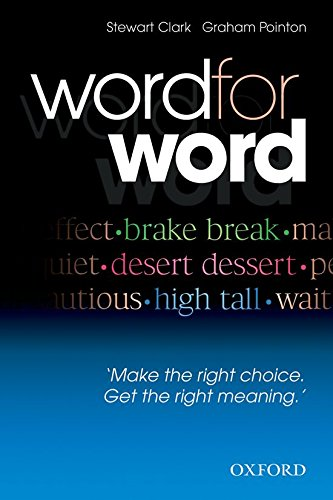 9780194327558: Word For Word: Make The Right Choice, Get The Right Meaning.