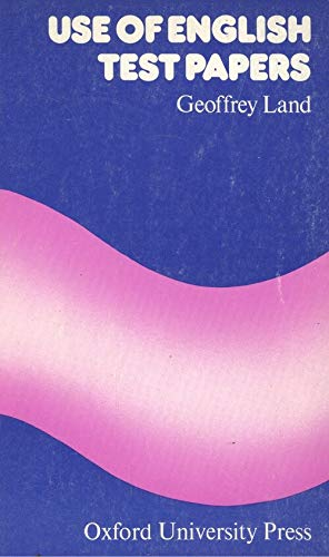 9780194327909: Use of English Test Papers