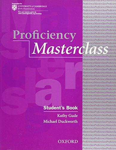 9780194329125: Proficiency Masterclass Student Book