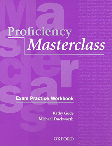 9780194329149: Proficiency Masterclass, New Edition: CPE Workbook and Cassette Pack (without Key)