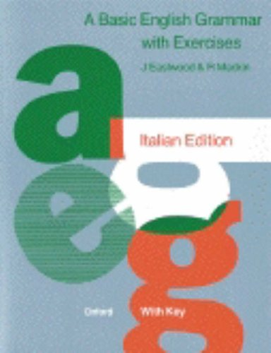 9780194329330: A Basic English Grammar: Exercises with Key