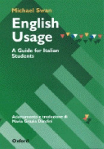 9780194329361: English Usage: a Guide for Italian Students