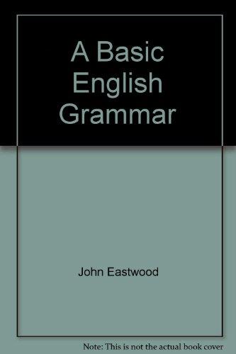 9780194329422: A Basic English Grammar