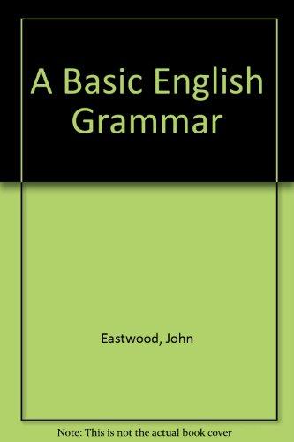 9780194329477: A Basic English Grammar