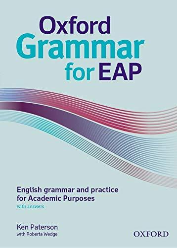 9780194329996: Oxford grammar for EAP. Student's book. With key. Per le Scuole superiori