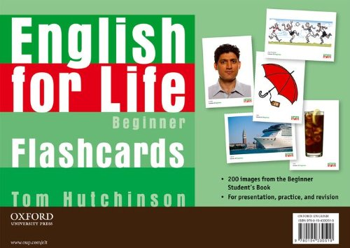 9780194330510: English for Life Beginners I-tools Flashcards