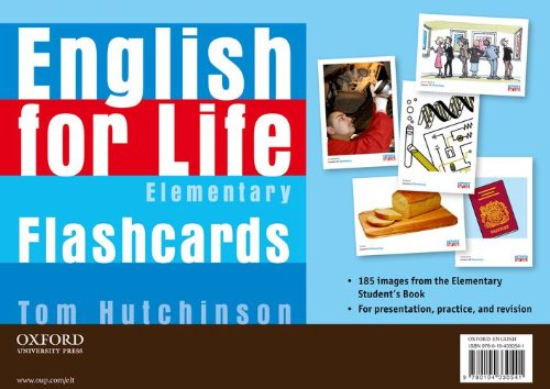 9780194330541: English for Life Elementary I-tools Flashcards