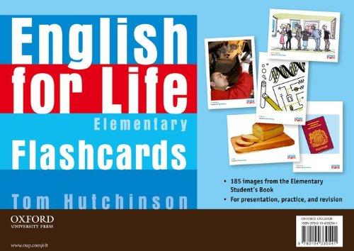 9780194330541: English for Life Elementary I-tools Flashcards
