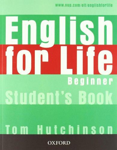 9780194331067: English for life. Beginner. Multipack con chiave. Student's book-Workbook. Per le Scuole superiori. Con MultiROM. Con espansione online