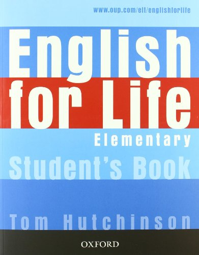 9780194331074: English for life. Elementary. Multipack con chiave. Student'sbook-Workbook. Per le Scuole superiori. Con MultiROM. Con espansione online