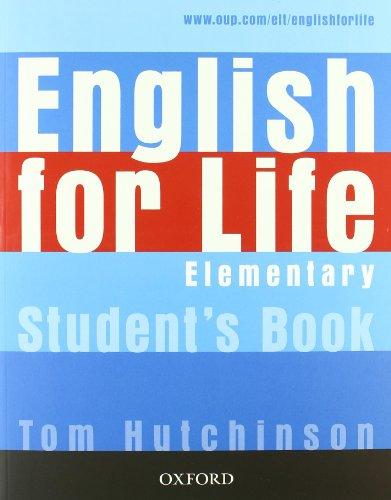9780194331074: English for life. Elementary. Multipack con chiave. Student'sbook-Workbook. Con espansione online. Per le Scuole superiori. Con MultiROM