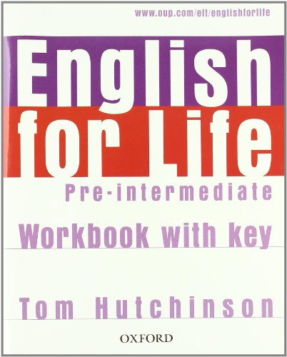 9780194331081: English for life. Pre-intermediate. Multipack con chiave. Student's book-Workbook. Con espansione online. Per le Scuole superiori. Con MultiROM