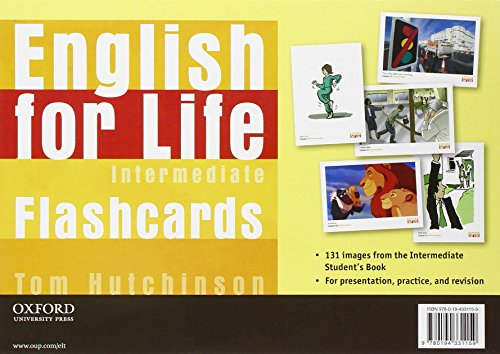 9780194331159: English for Life: Intermediate: Flashcards