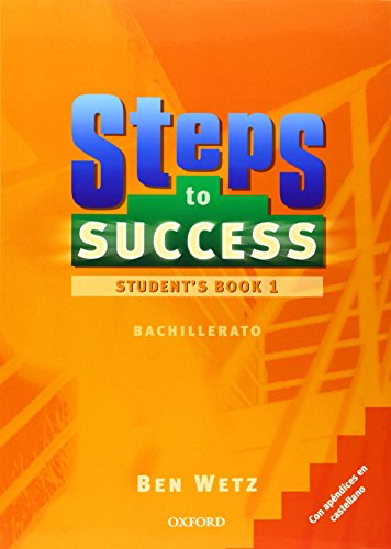 9780194331470: BACH 1 - STEP TO SUCCESS 1 (+ORAL SKILLS COMPANION) (SPANISH)