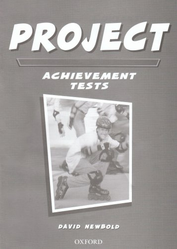 Project Tests: Achievement Tests (9780194332156) by Tom Hutchinson