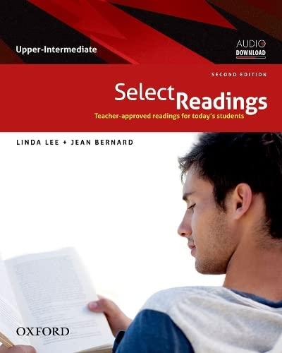 Select Readings: Student Book Upper-Intermediate: Lee, Linda
