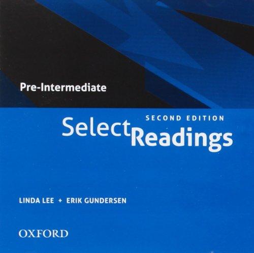 9780194332194: Select Readings: Class Audio Pre-Intermediate