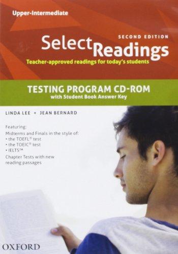 9780194332224: Select Readings: Upper Intermediate: Testing Program CD-ROM