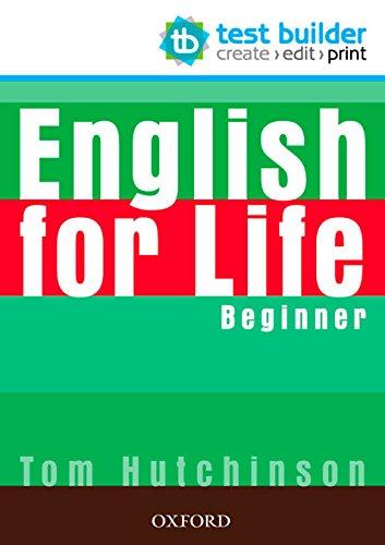 9780194333528: English for Life: Beginner: Test Builder DVD-ROM
