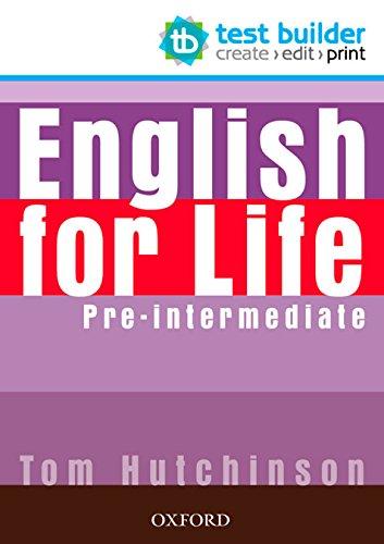 9780194333542: English for Life: Pre-intermediate: Test Builder DVD-ROM