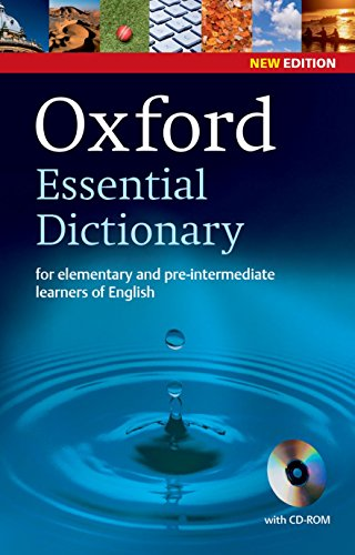 9780194334037: Oxford Essential Dictionary and CD-ROM Pack 2E