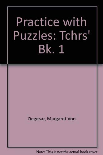 9780194335041: Practice with Puzzles: Tchrs' Bk. 1